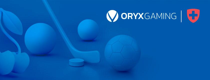Oryx Gaming Suisse Mycasino