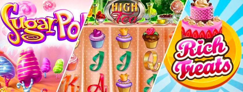 slots bonbons sucreries